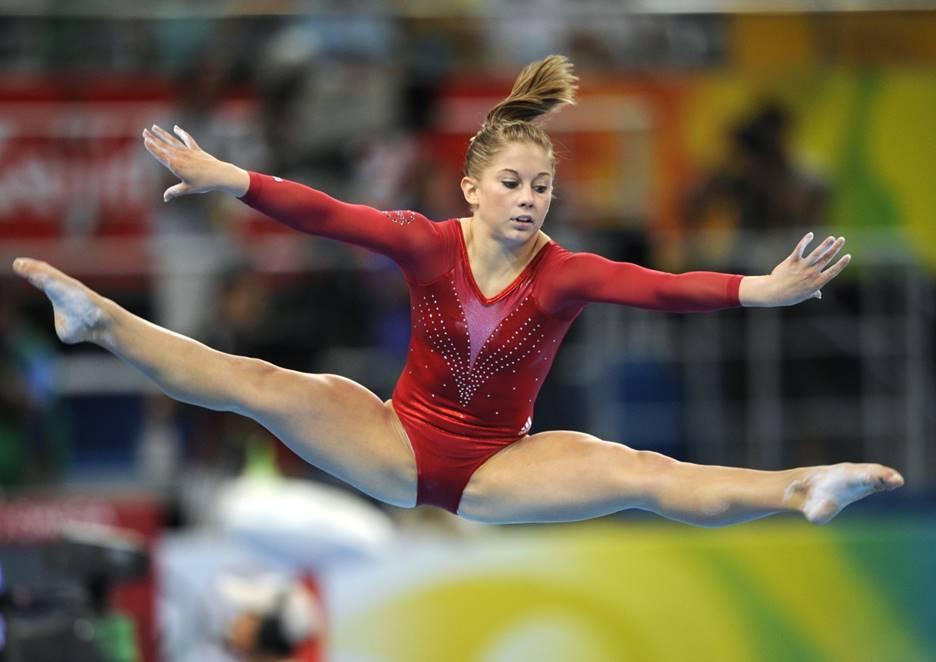 Female Gymnast Uniform Malfunction